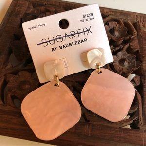 SUGARFIX BY BAUBLEBAR pink statement earrings